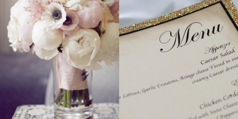 Victoria Wedding Planning Catering Menu