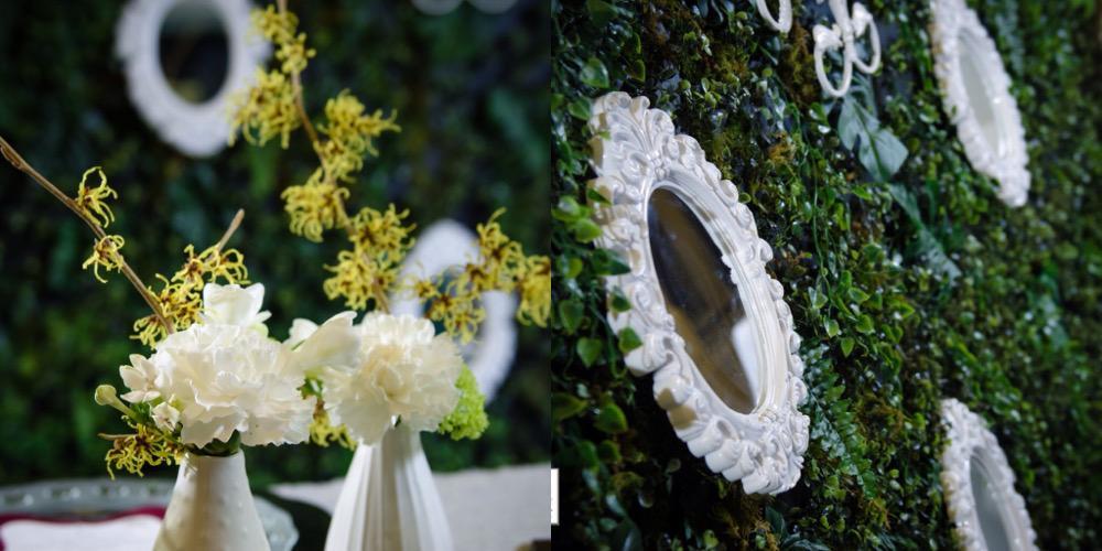 Victoria Wedding Decorator Mirror Decoration