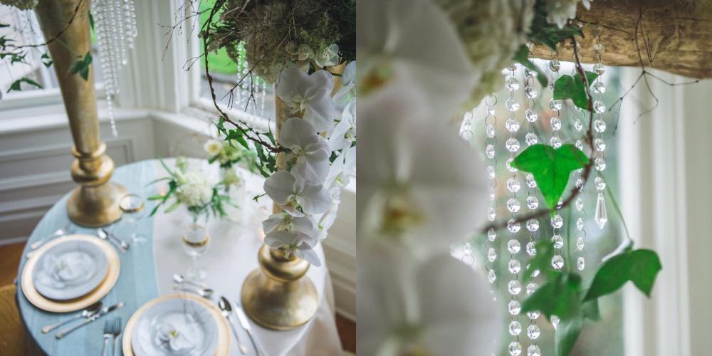 Victoria Wedding Decorator Bride and Groom Lunch